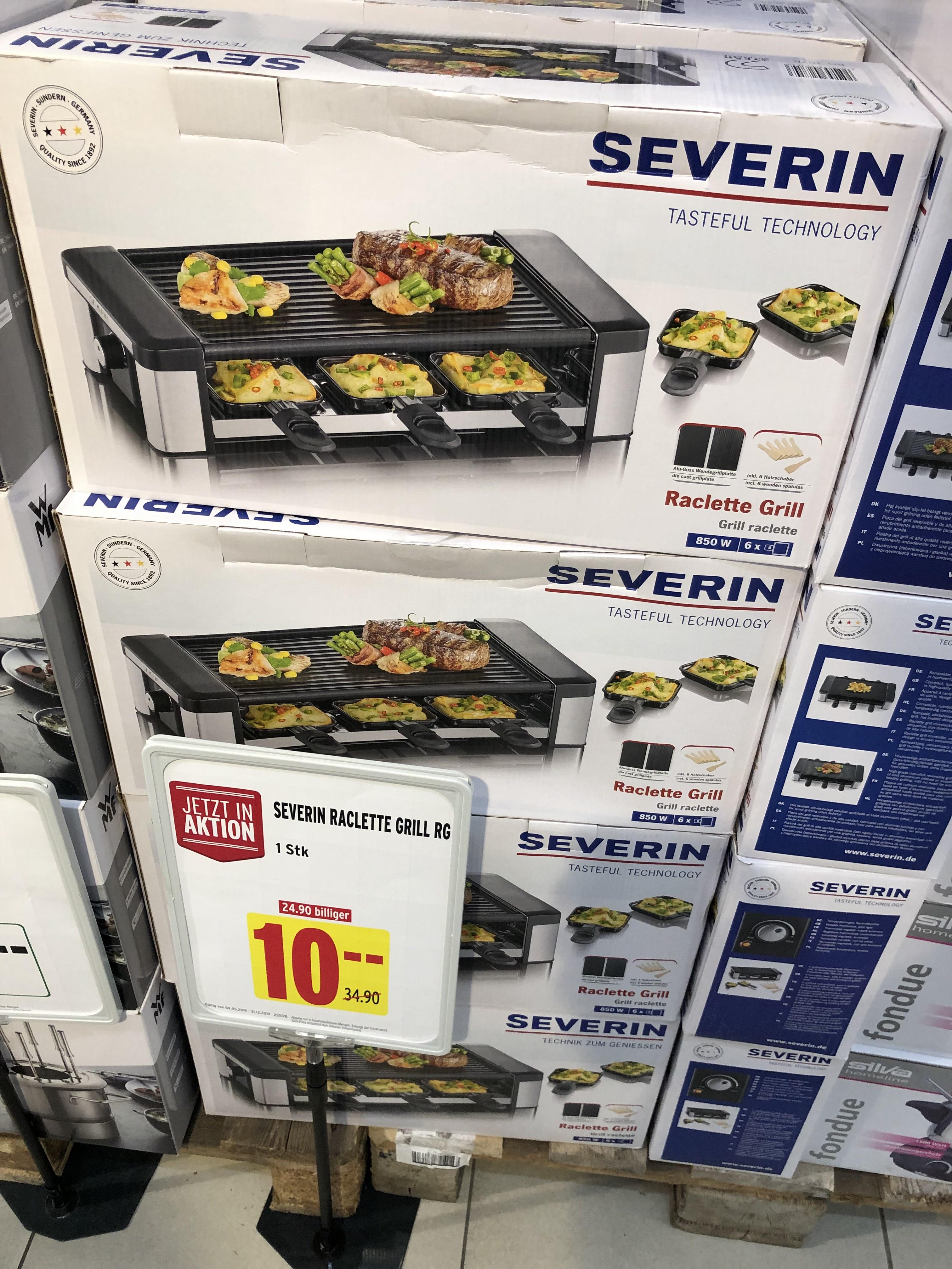 Severin Raclette Grill (Lokal)