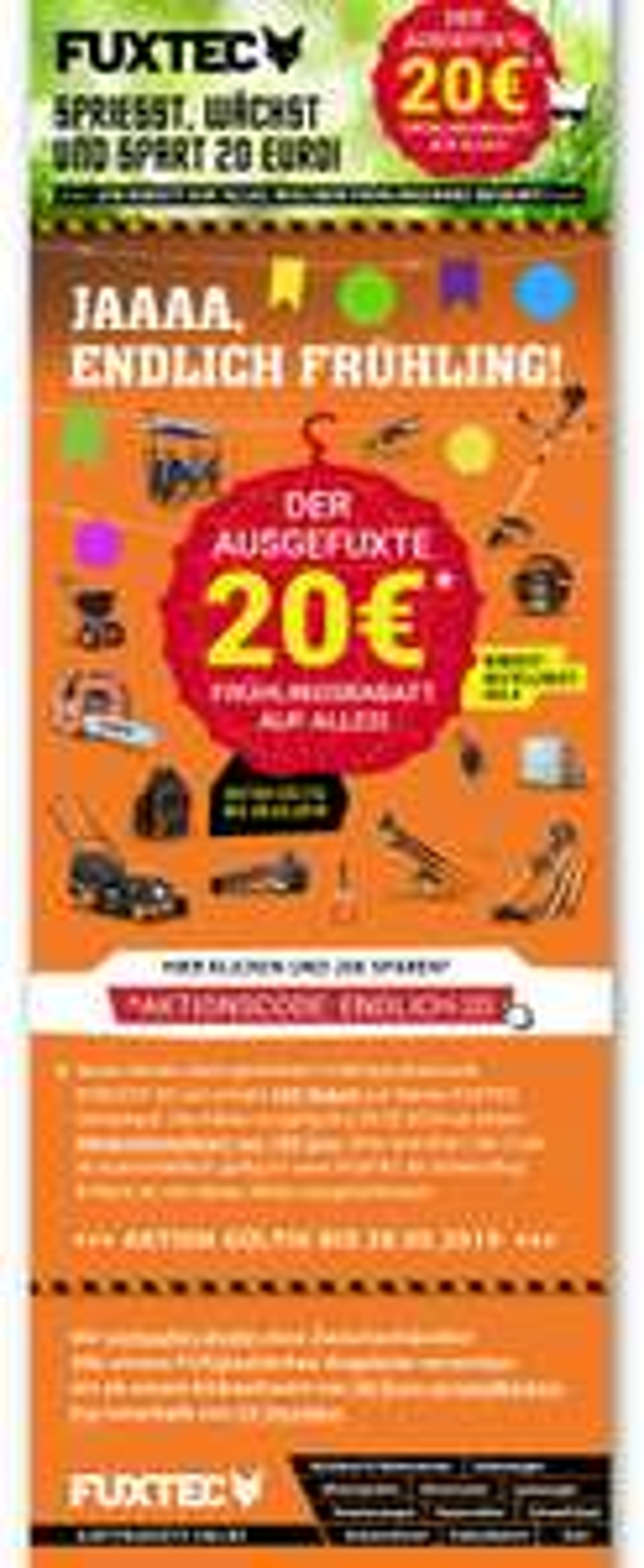 FuxTec.de 20€ Gutschein