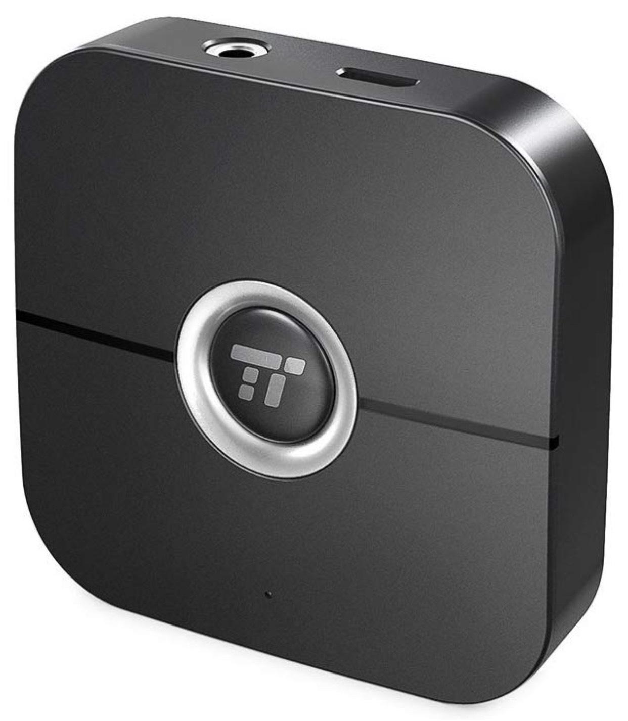 TaoTronics Bluetooth-Empfänger TT-BR010 (Bluetooth 4.2,Klinke-/Klinke-Cinch- und USB-Kabel)