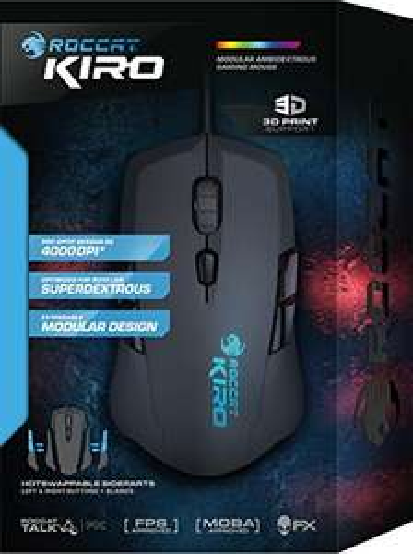 Roccat Kiro Modular Ambidextrous Gaming Maus