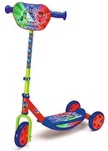 Preisjäger Junior: Smoby Roller, 3 Räder, Blau/Rot/Grün