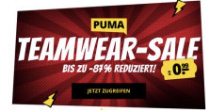 Puma Teamware Sale - Jacken, Sweatshirts, Shorts, Trikots bis zu 87% Günstiger