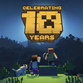 10 Jahre Minecraft Java Edition -32% & -25% auf Merch im Minecraftstore