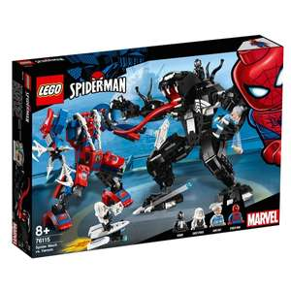 LEGO Marvel Super Heroes Spielset - Spider Mech vs. Venom (76115)