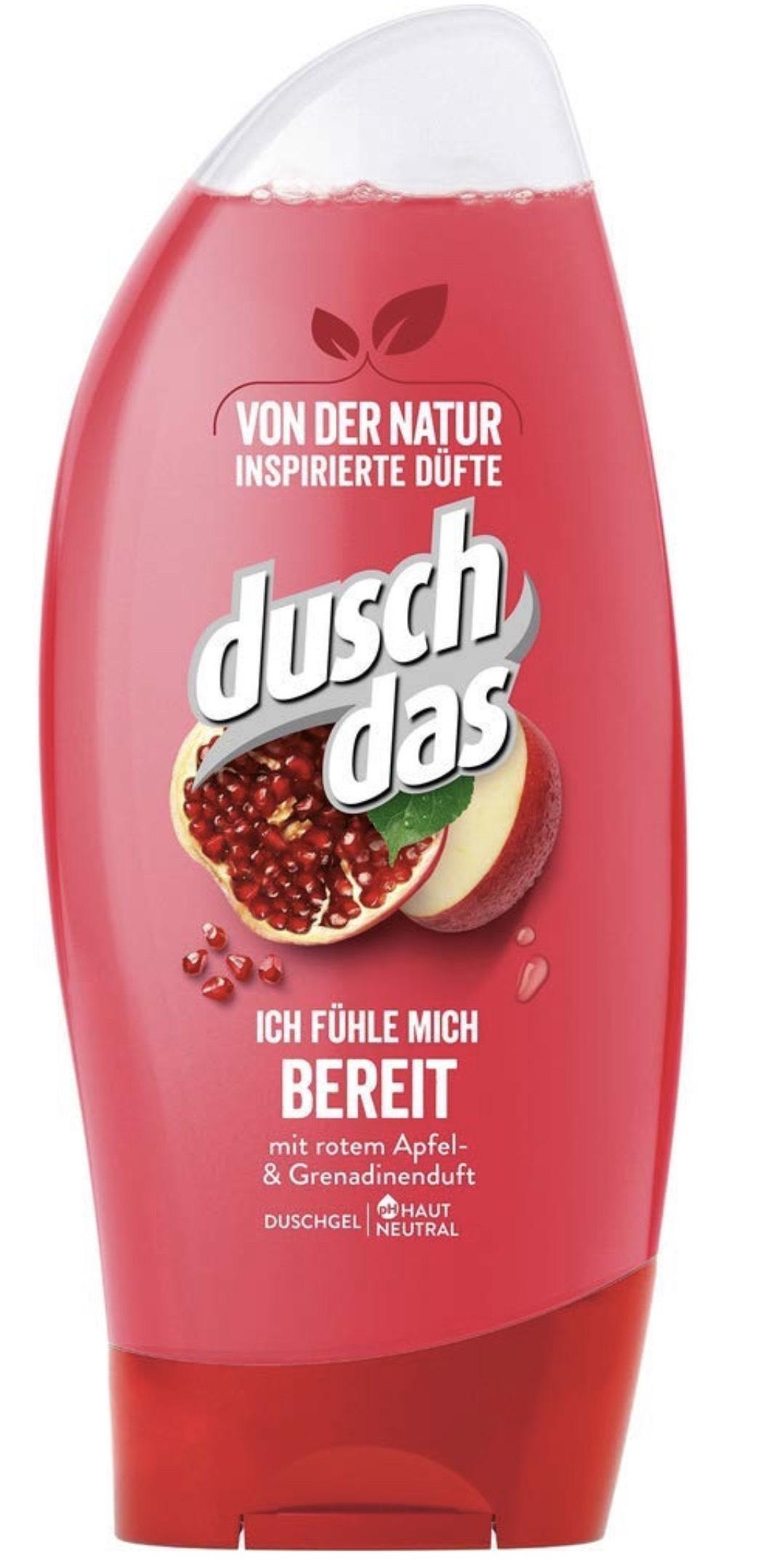 Duschdas Duschgel Verschiedene Duftrichtungen , 6er Pack im Spar-Abo