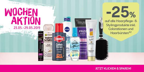 bipa.at -25% auf Haarpflege- & Haarstyling- und ORAL-B Produkte