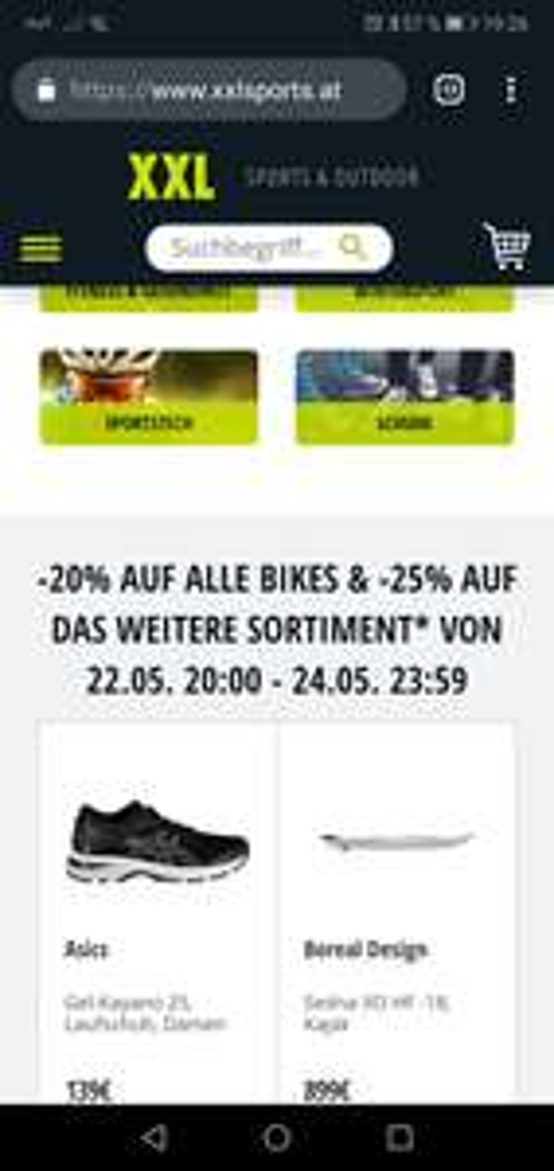 Xxl Sports Angebote Deals Juli 2019 Preisjäger