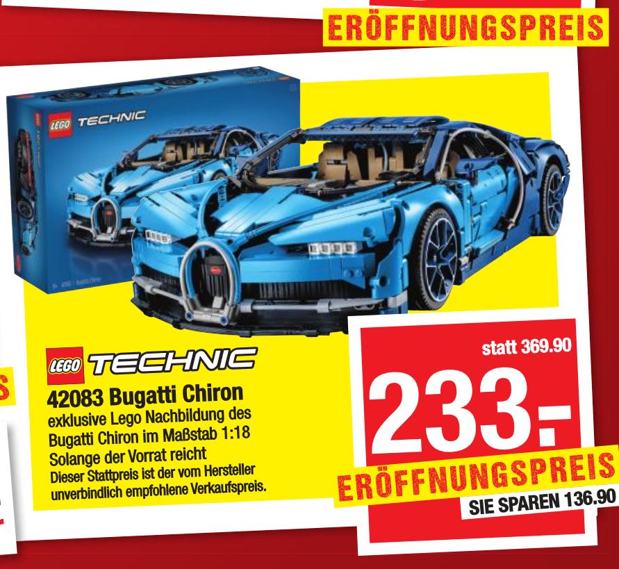 [Maximarkt] LEGO Technic Bugatti Chiron (42083)
