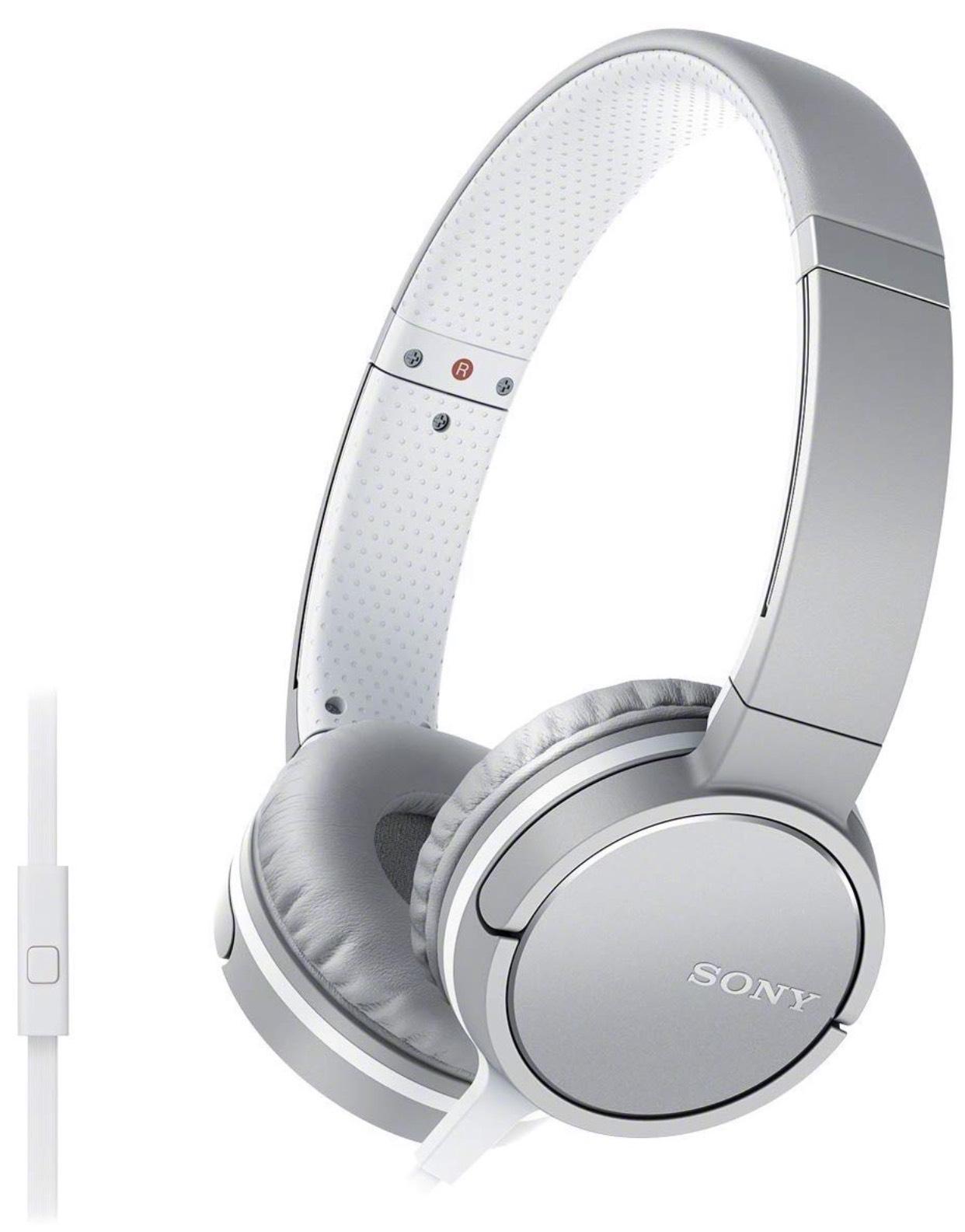 Sony MDR-ZX660AP Kopfhörer mit Headsetfunktion und In-Line-Remote weiß