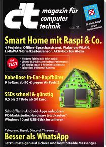 6x c't inkl. c't Desinfec't + Prämie um effektiv 6,30 EUR
