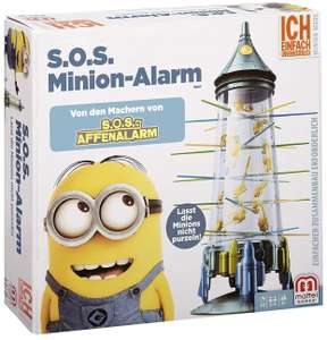 Mattel S.O.S. Minion Affen-Alarm, Kinderspiel