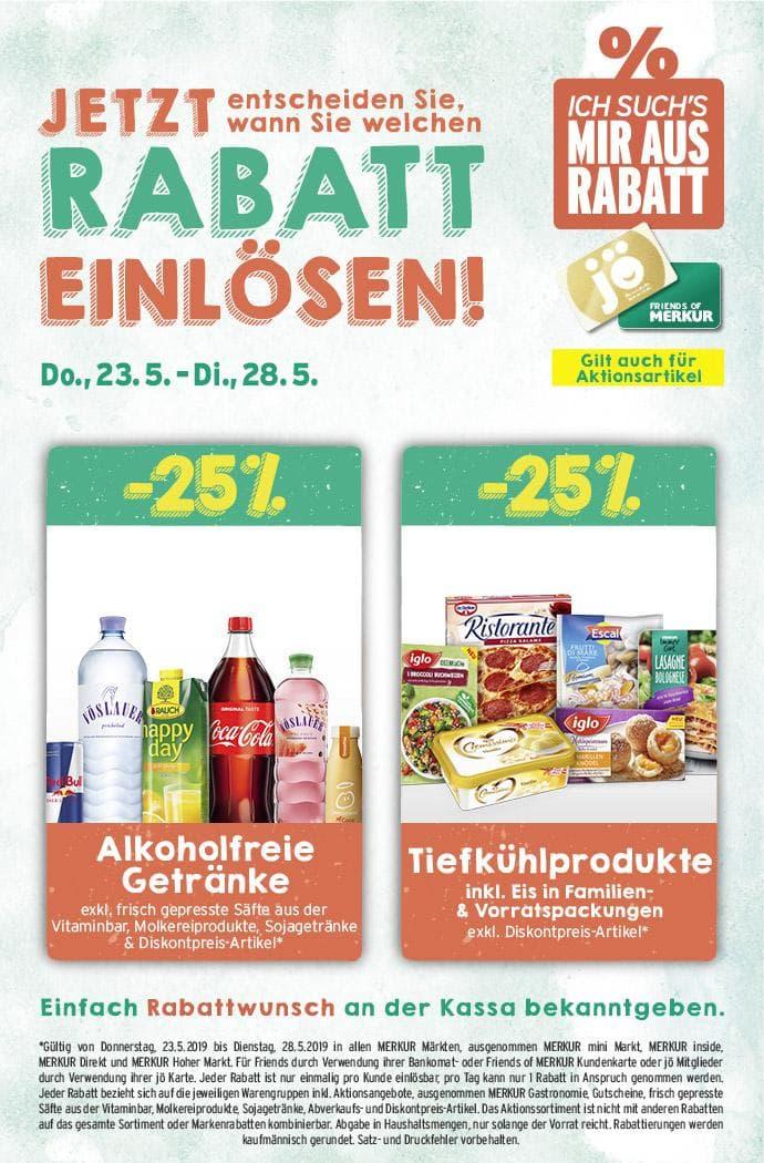 Lebensmittelhandel Angebotsübersicht 23.5.2019 - 29.5.2019
