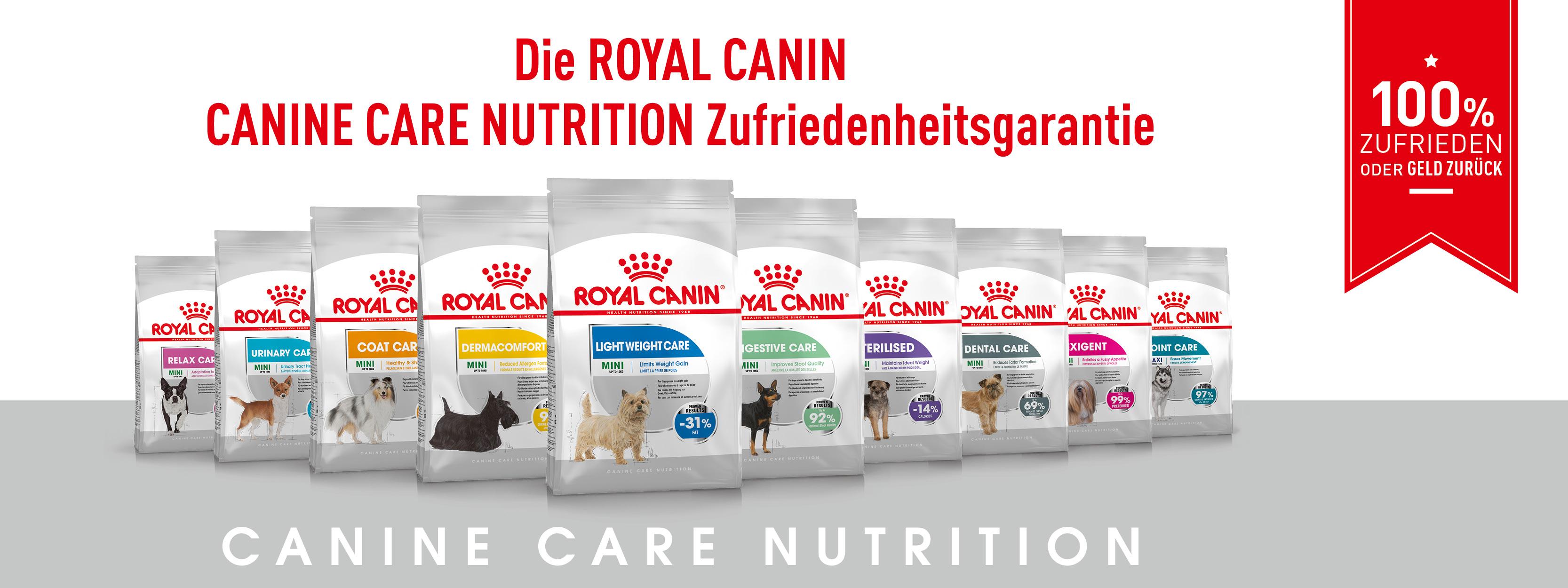 (GzG) Royal Canin Hundefutter 3kg GRATIS testen bei Unzufriedenheit