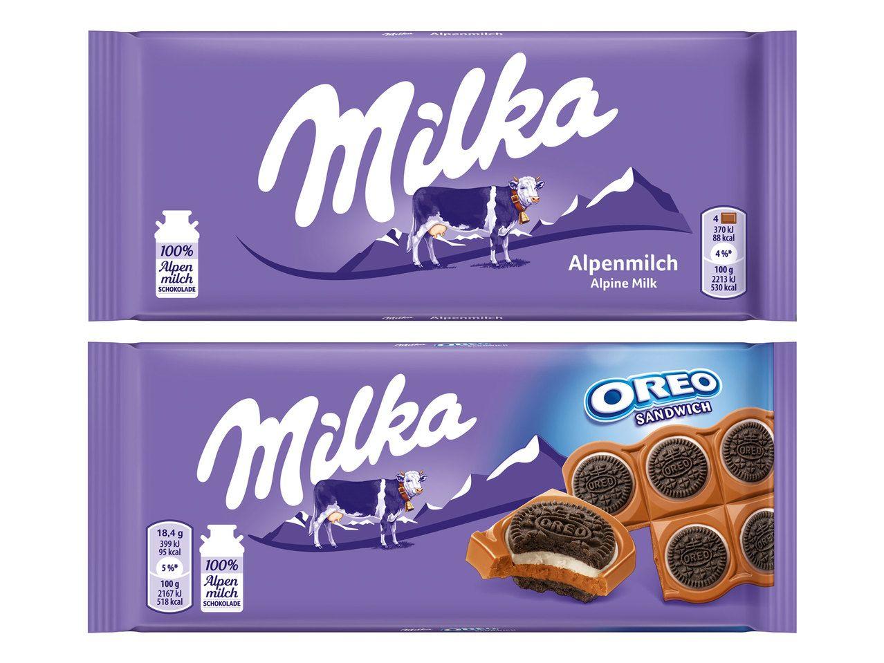 MILKA Tafelschokolade bei Lidl Österreich