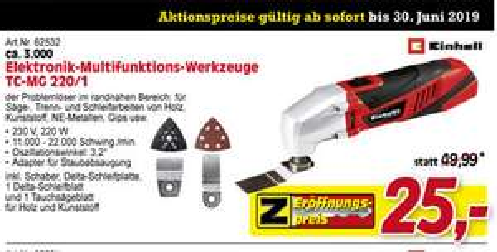 Elektronik-Multifunktions-Werkzeug TC-MG 220/1 E