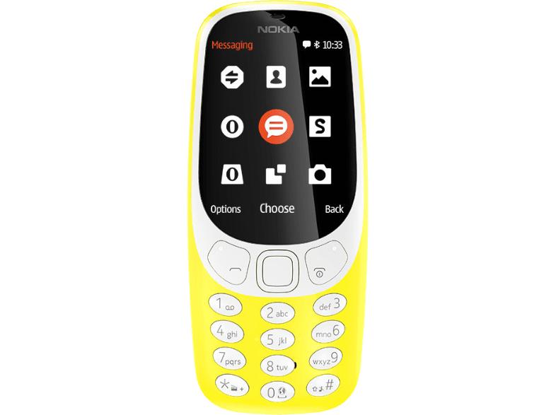 [Saturn.at] Nokia 3310 (2017) in gelb für 25 Euro inkl. Versand