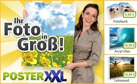 20€ PosterXXL Gutschein für 3€ bei Citydeal *Update* Wieder verfügbar