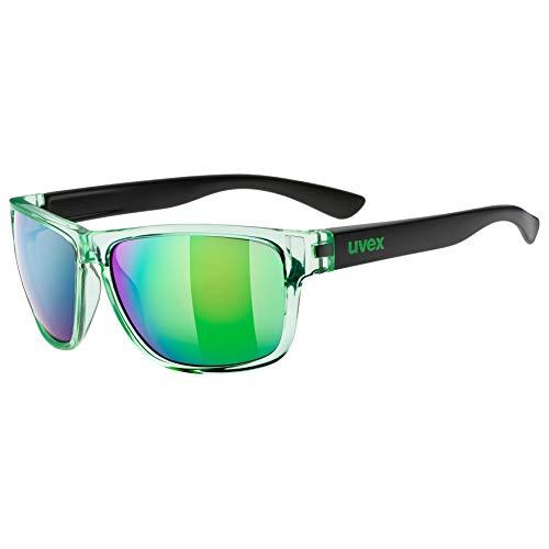 Uvex Lgl 36 Colorvision Sonnenbrille mit Kontraststeigerung und UVA / UVB / UVC Schutz