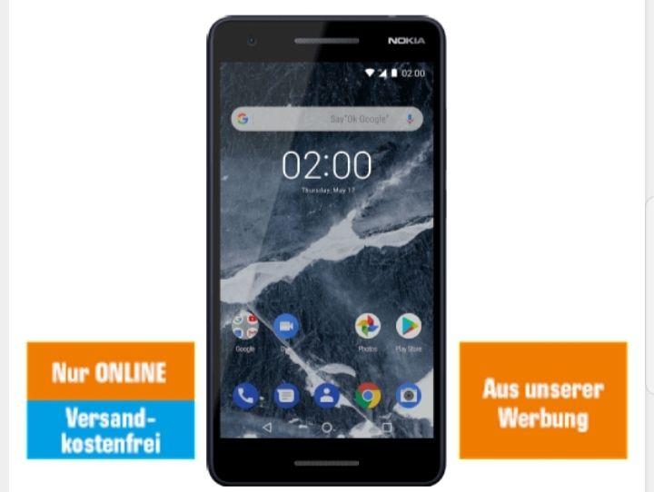 Nokia 2.1 Blau/Silber