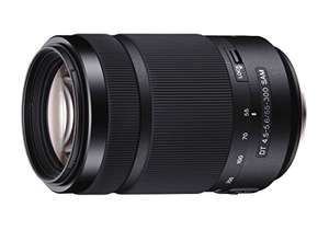 Sony SAL-55300 Tele-Zoom Objektiv (DT SAM, 55-300 mm, F4,5-5,6, APS-C, A-Mount)