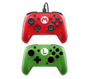Nintendo Switch Wired Pro Controller – Super Mario Edition