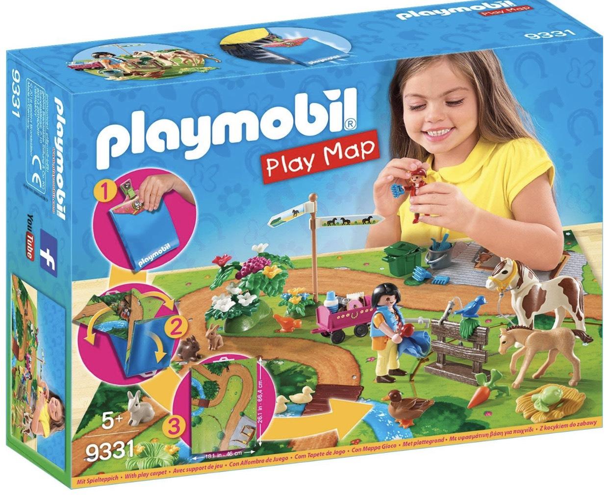 Playmobil 9331 - Ponyausflugset