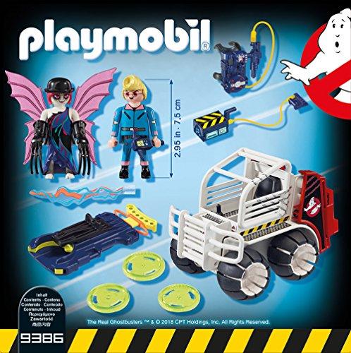 playmobil Ghostbusters - Spengler mit Käfigfahrzeug (9386)