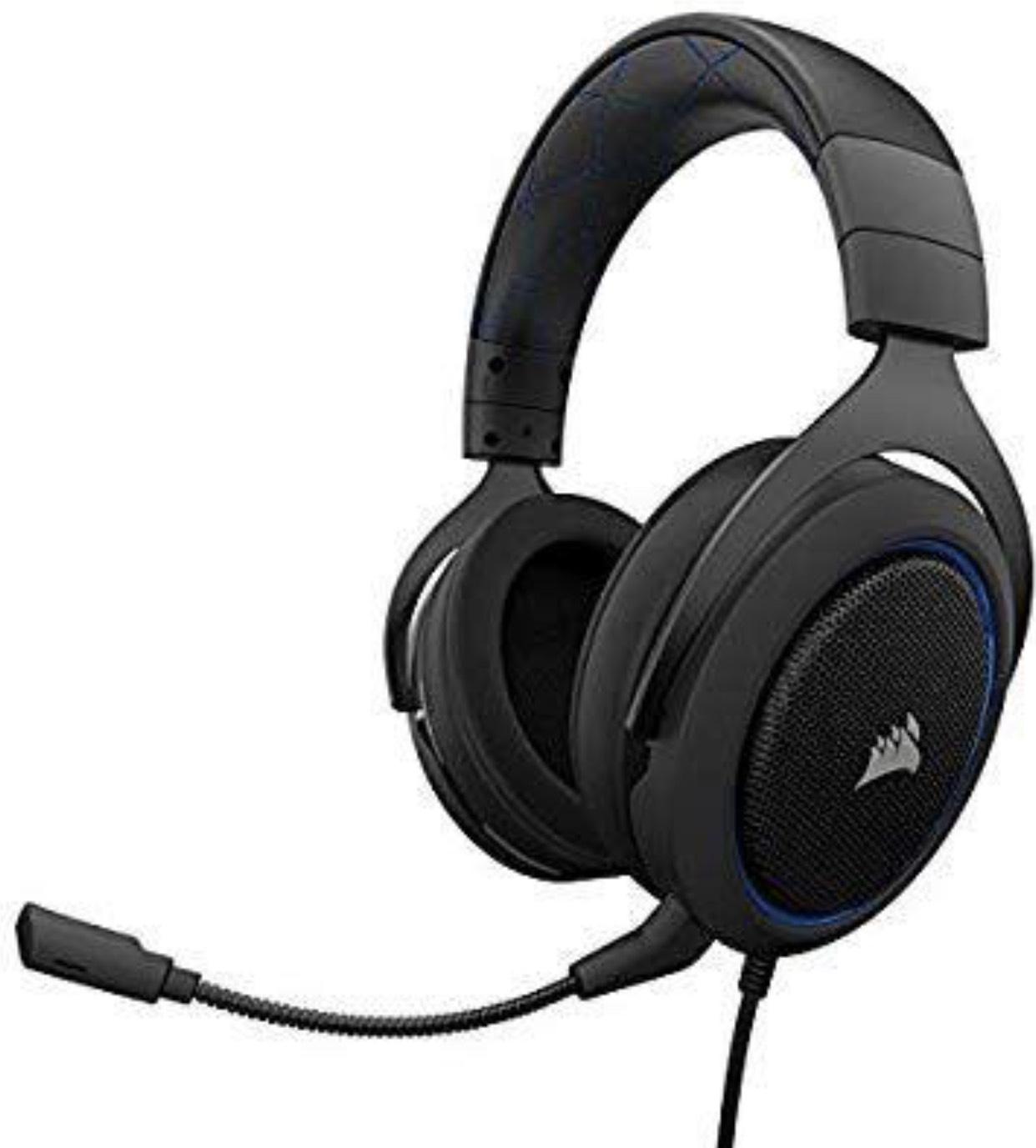 Corsair HS-50 Gaming Headset + MM100 Mauspad