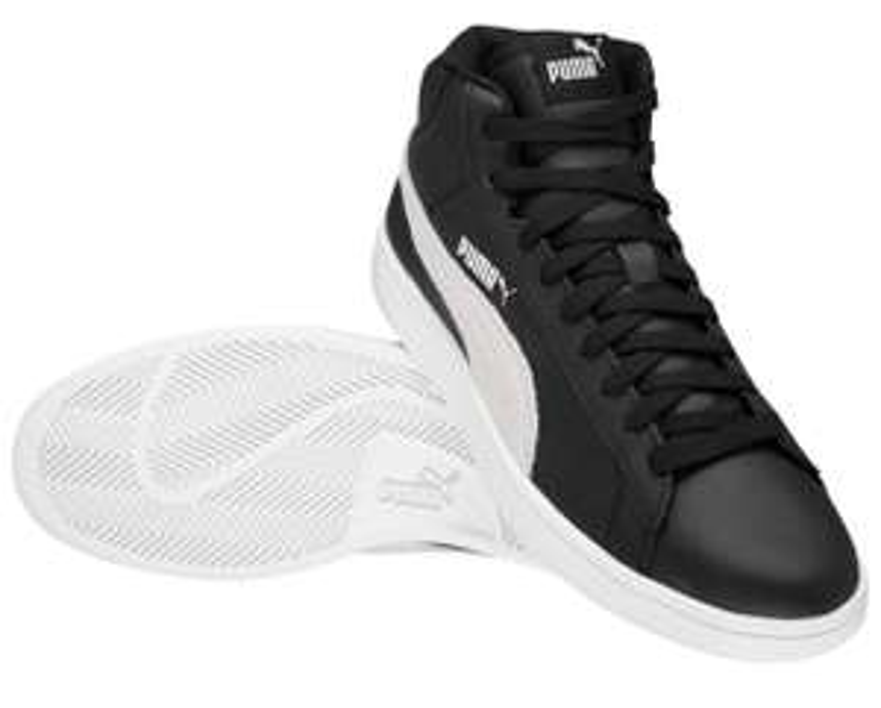 PUMA Smash V2 Mid Leder Herren Sneaker