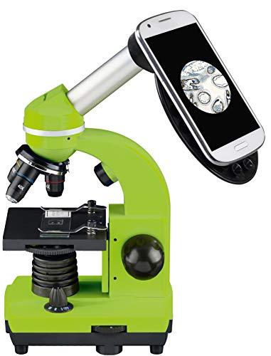 Bresser Junior Mikroskop BIOLUX SEL (blau, grün, rot oder violett)