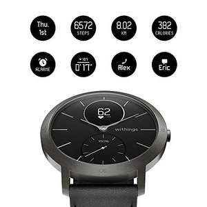 Withings / Nokia Steel HR Hybrid Smartwatch Black - Sapphire Glass - Limited Edition - 40mm