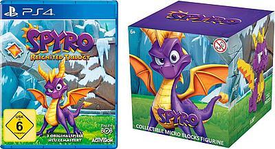 Spyro Reignited Trilogy und Crash Bandicoot N. Sane Triology je 22€ (PS4/XBOX)