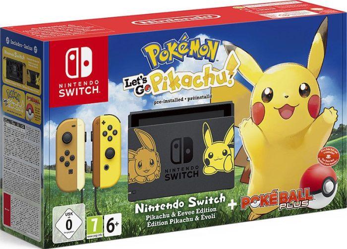 [Metro] Nintendo Switch - Pokémon: Let's Go - Pikachu! Bundle