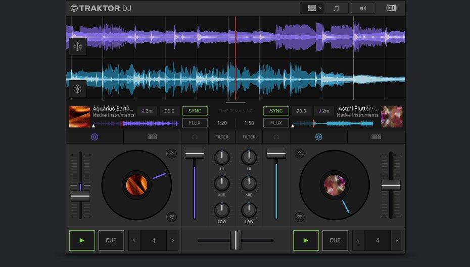 Native Instruments Traktor DJ 2 Software (Windows / Mac / iOS) kostenlos!