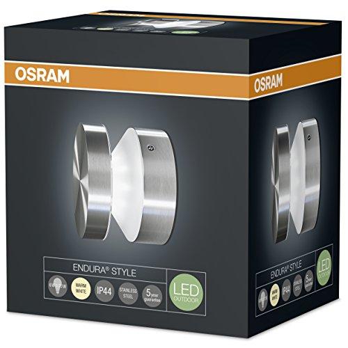 Osram Endura Style Cylinder Ceiling 6W Wandleuchte Edelstahl