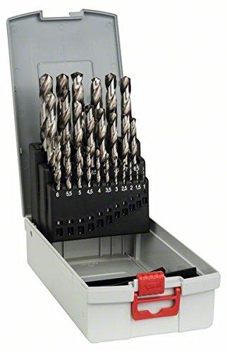 Bosch HSS-G Spiralbohrer-Set, 25-tlg. (Metallbohrer)