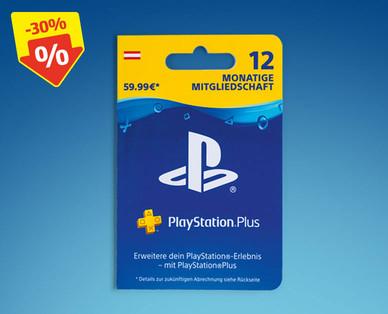 [HOFER] PlayStation Plus Mitgliedschaft 12 Monate (-30%!)