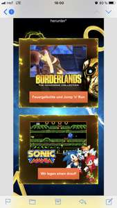 PS PLUS GRATISSPIELE - BORDERLANDS & SONIC