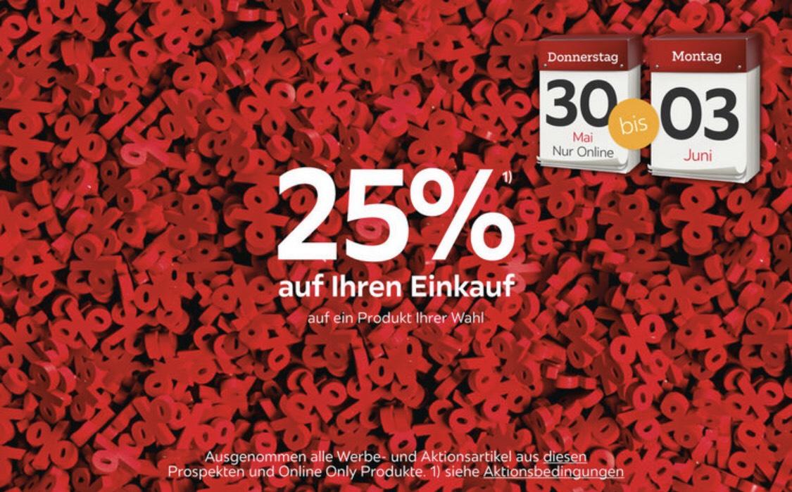 -25% auf ein Möbelstück deiner Wahl im Onlineshop