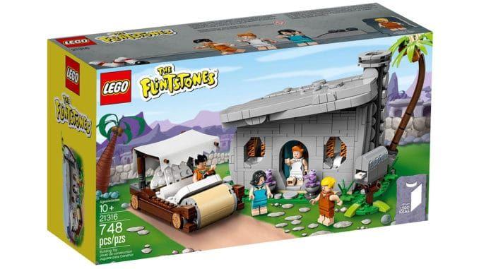 LEGO Ideas - 21316 The Flintstones - Familie Feuerstein