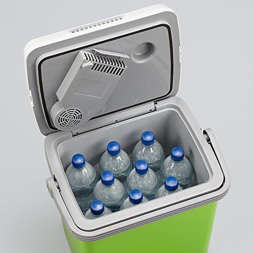 SEVERIN Elektrische Kühlbox mit Kühl- und Warmhaltefunktion, 20 L, Inkl. 2 Anschlüsse
