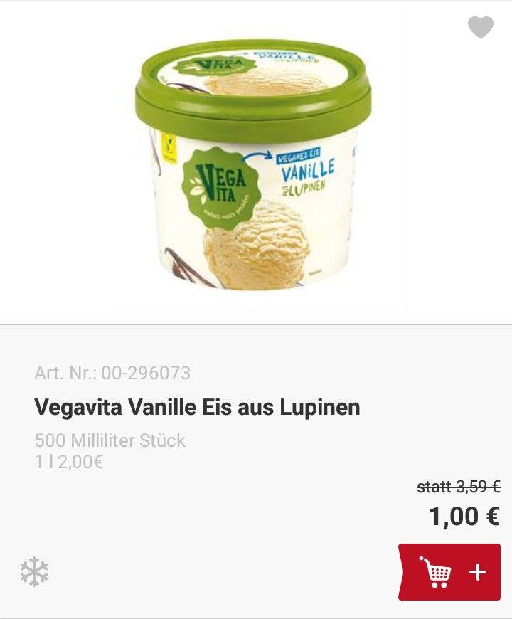 (BILLA ONLINESHOP) Vegavita 500ml Vanille Eis nur 0,75€