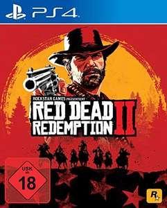 Bestpreis Red Dead Redemption 2 PS4 bei Amazon