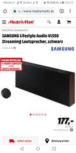 Samsung Lifestyle Audio VL550 (Media Markt)