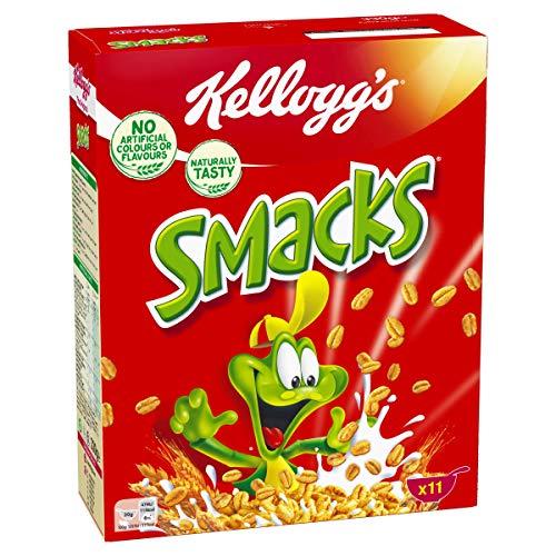 AMAZON.at l Kelloggs Cornflakes, Smacks, Tresor oder Frosties 4x330g Packungen bis zu € 5,72 entspricht € 1,43 je Packung