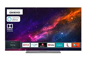 AMAZON.at l Toshiba 55X9863DA OLED Fernseher  4K Triple Tuner Smart TV Dolby Vision HDR Prime Video & Alexa ready