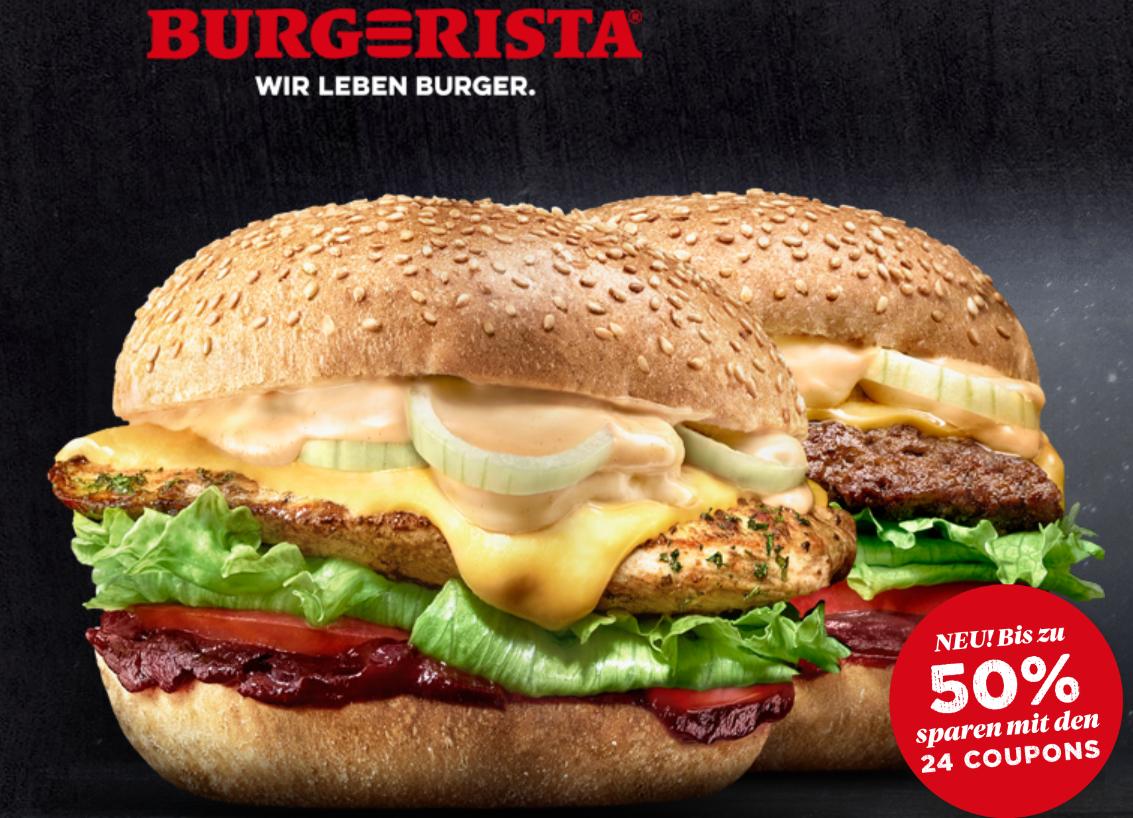 Burgerista Gutscheine - bis 30.06.2019