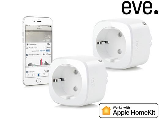 Elgato Duo-Pack Eve Energy Stromsensor & Schalter   Refurbished