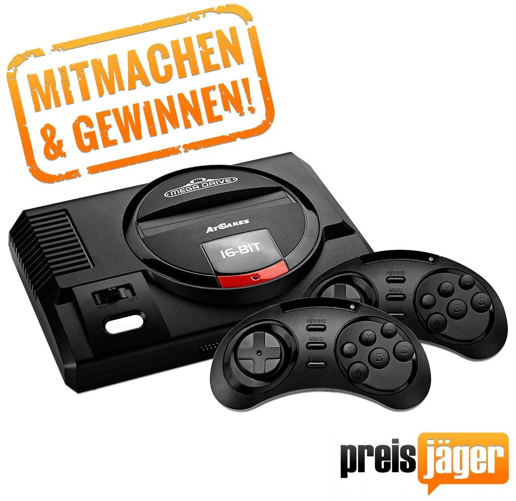 """Preisjäger WhatsApp Gewinnspiel II - gewinne eine """"Sega Medadrive Flashback HD"""""""