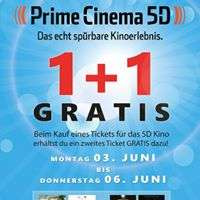 Lugner City 5D Kino 1+1 Ticket